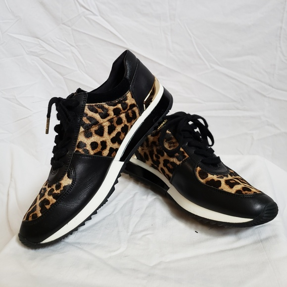 Michael Kors Allie Leopard Sneakers